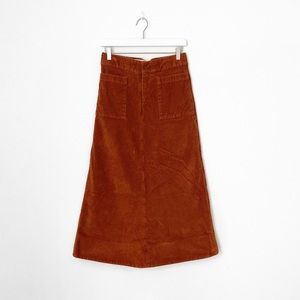 Marc Jacobs Corduroy Midi Skirt